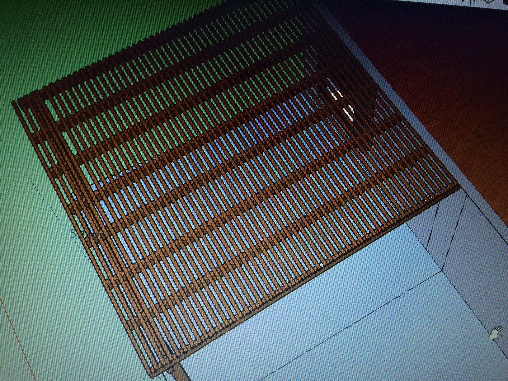 תכנון פרגולת עץ