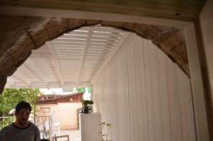 קירות עץ