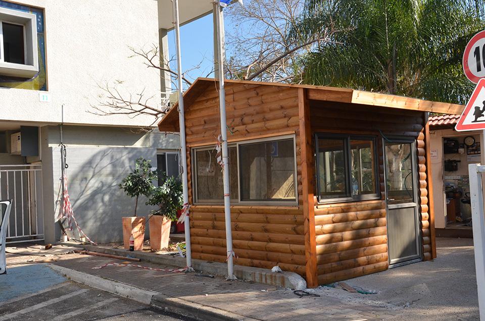 ביתן שמירה חדש מעץ בית קיי