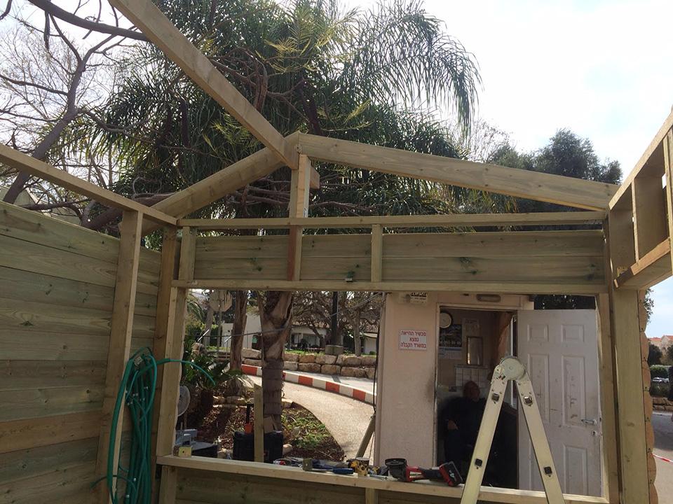 בוטקה בית קיי: בתהליכי בנייה